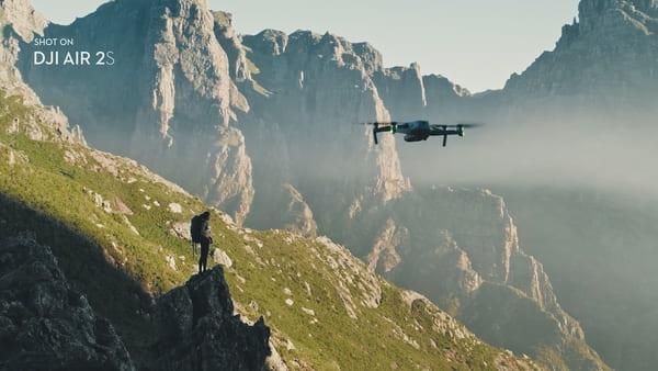 Drone DJI Mavic Air 2S - Qualité photo